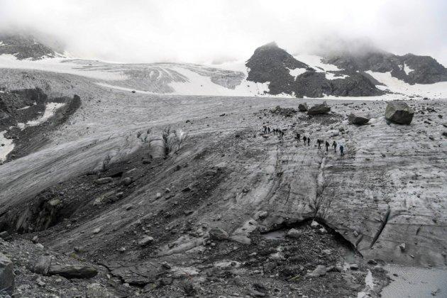 Des résidus radioactifs dans les glaciers