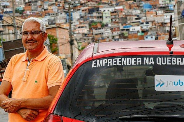 JaUbra, l'alternative à Uber dans les quartiers sensibles de Sao Paulo