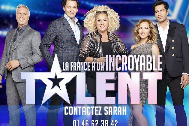 La France a Un Incroyable Talent vous attend pour son casting