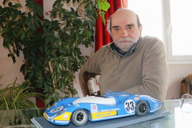 Près de Rouen, Alain Maret est un passionné de voitures de course