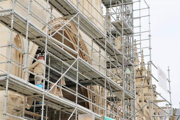 L'église Saint-Pierre de Caen: une rénovation sous haute surveillance