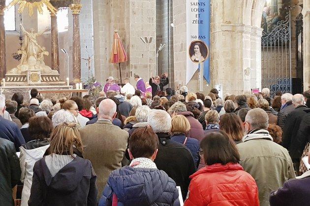 Alençon: cérémonie en communion avec le diocèse de Paris