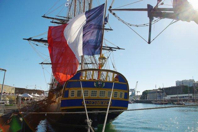 Le-Havre. L'Hermione à Caudebec-en-Caux : la billetterie est ouverte !
