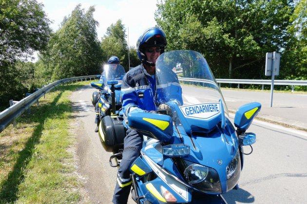 Une formation des motards par les motards de la Gendarmerie nationale