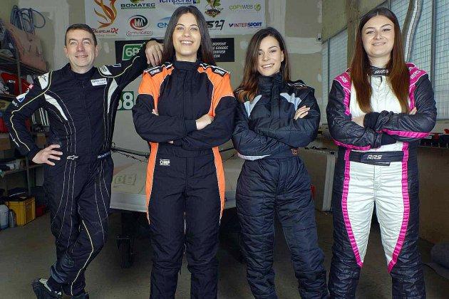 24h motonautiques de Rouen : une team avec trois femmes pilotes