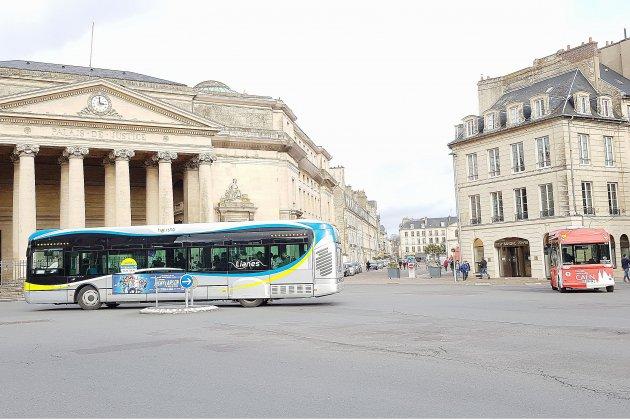 Caen : des perturbations sur le réseau de bus Twisto