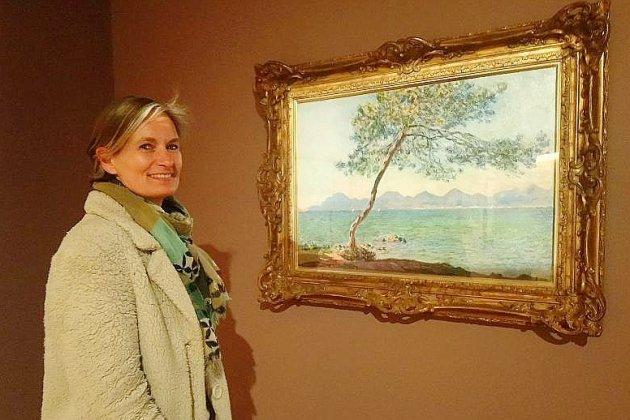 Face à face Auburtin et Monet au muséedes impressionnismes de Giverny
