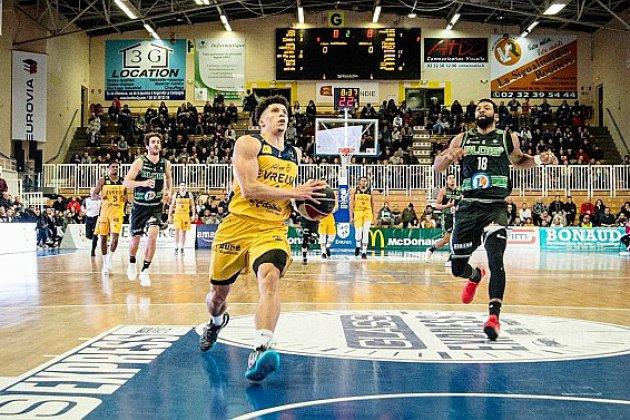 Basket (Pro B) : Evreux remporte son match face à Chartres