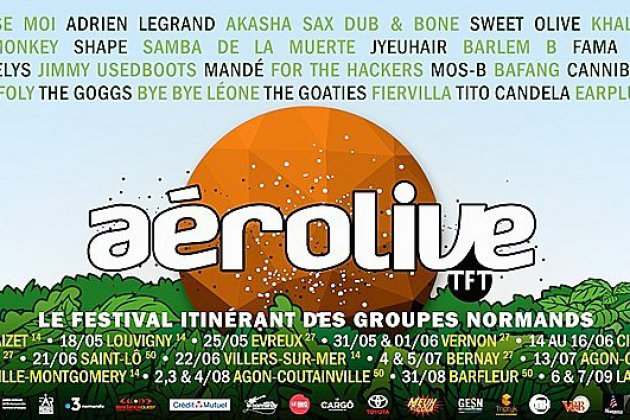 La tournée Aérolive débutera le 8 mai 2019