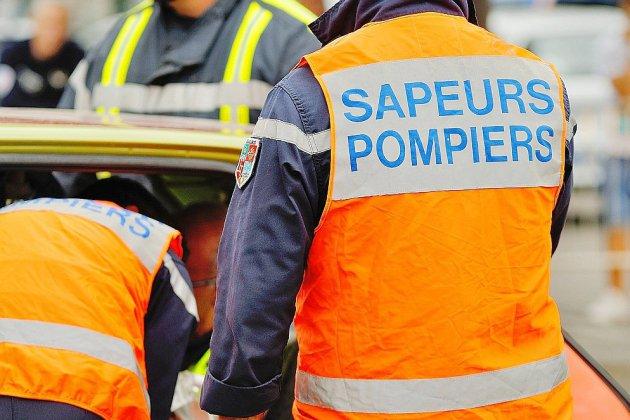 Deux blessés dans un grave accident de la route entre Lisieux et Bernay