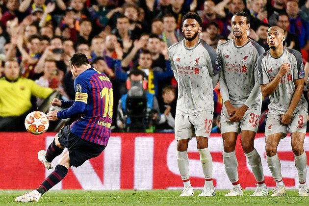 Ligue des champions: Messi foudroie Liverpool, le Barça tutoie la finale