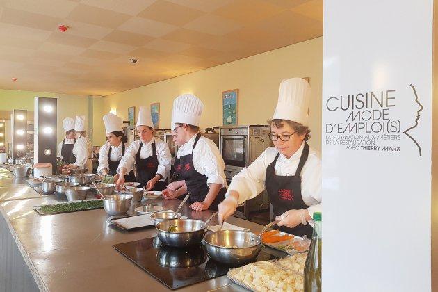 Cuisine mode d'emploi(s) à Fécamp : formation express mais voie royale