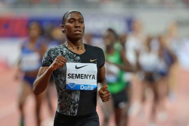 Ligue de diamant: comme un symbole, Semenya s'impose à Doha