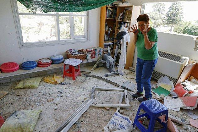 Pluie de roquettes contre Israël, un Palestinien tué dans des représailles à Gaza