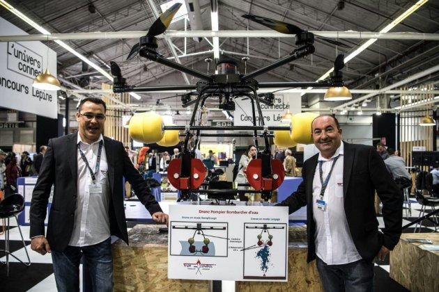 """Novices et """"inventeurs en série"""" s'affrontent au concours Lépine"""