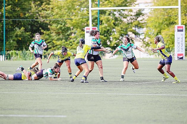 Rouen. Rugby féminin: l'Asruc sauve sa place dans l'élite!