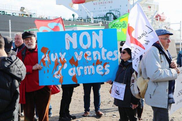 Le cargo saoudien qui devait charger des armes n'entrera pas au Havre