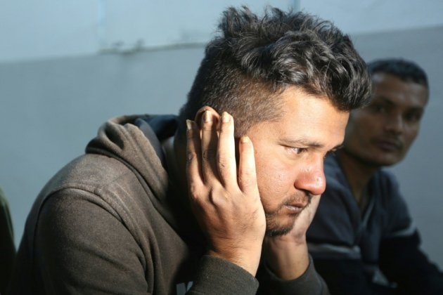 """Naufrage de migrants: """"ils sont morts un à un"""", """"devant mes yeux"""""""