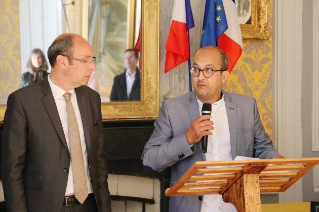 Incendie à Alençon: la médaille d'or de la ville pour Mohamad Chaal