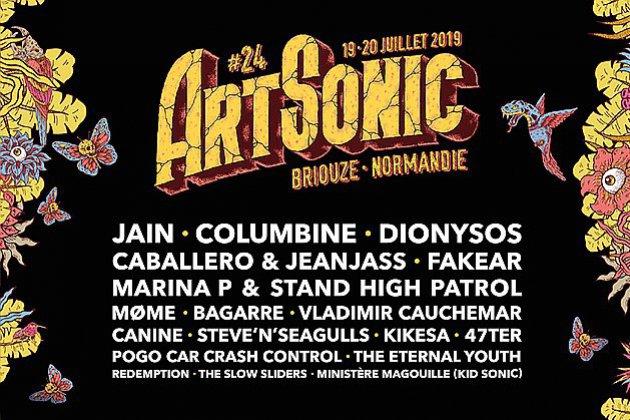 Art Sonic revient à Briouze les 19 et 20 juillet 2019