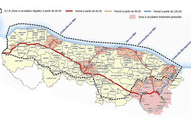 75e du D-Day: le 6 juin, la circulation réglementée sur 121 communes