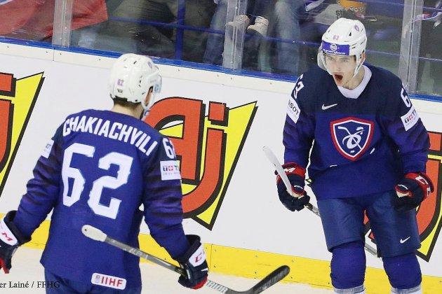 Hockey sur glace (Mondiaux): Le Rouennais Florian Chakiachvilis'illustre chezles Bleus