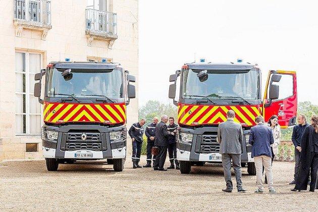 Calvados: quatre nouveaux camions citernes pour les pompiers