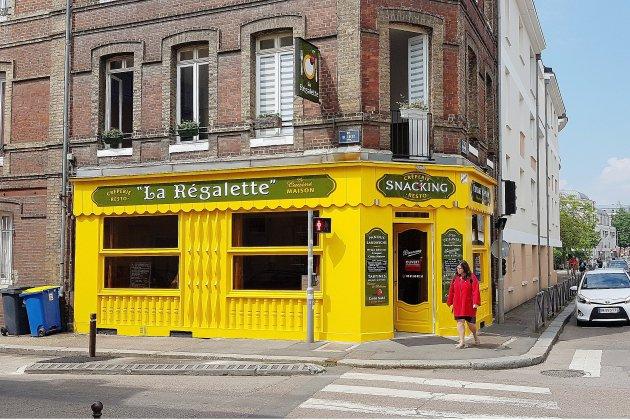 Bonne table à Rouen: la Régalette, quartier de la préfecture