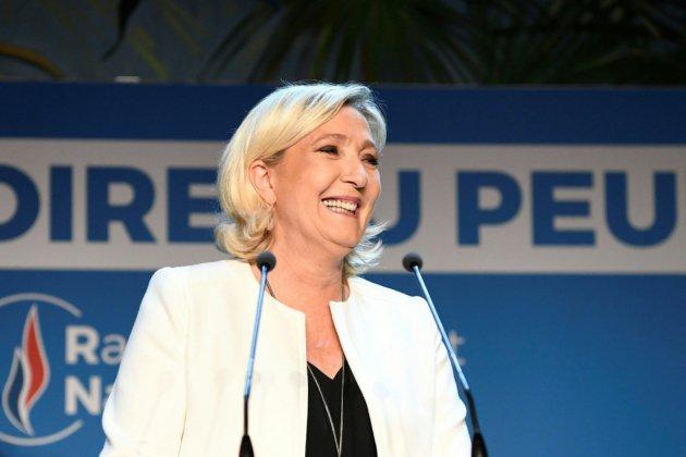 Européennes: le RN de Le Pen devance la liste Macron, les Verts créent la surprise