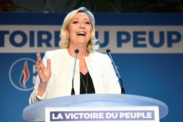 Une victoire au goût de revanche pour Marine Le Pen