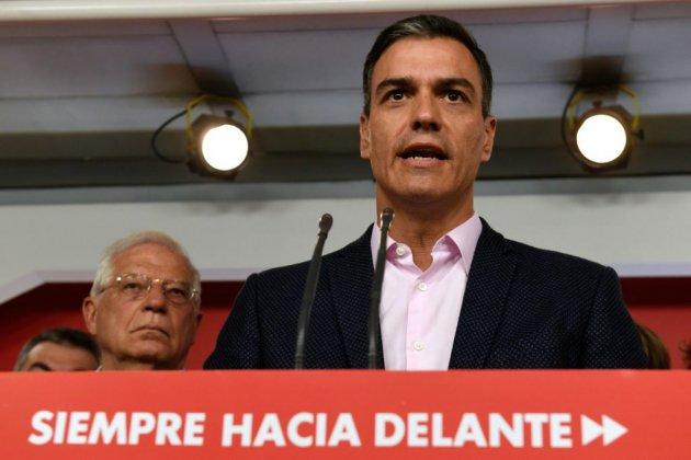 Espagne: le socialiste Pedro Sanchez sort grand vainqueur des européennes