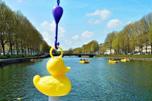 Insolite: une pêche aux canards géante à Caen