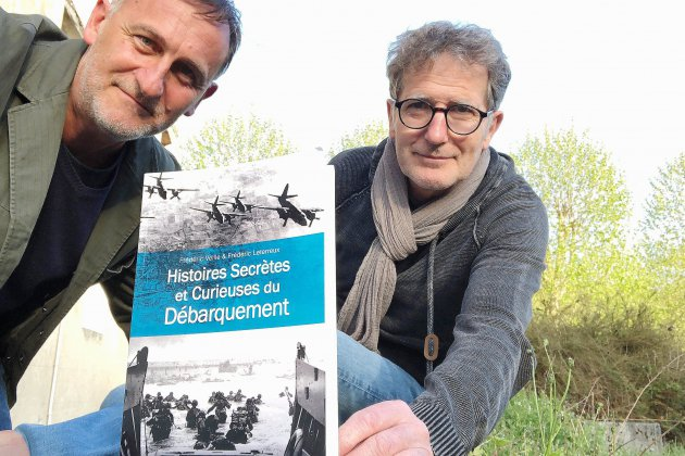 Frédéric Veille revient avec de nouvelles histoires insolites du Débarquement