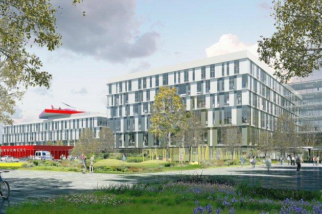 Caen: la reconstruction du CHU sera pensée avec la population
