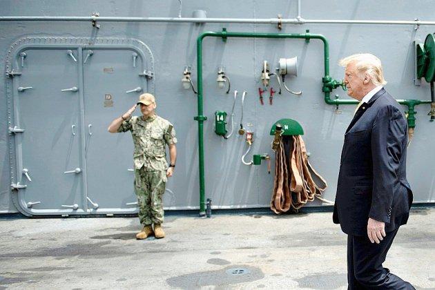 Cachez ce navire que Trump ne saurait voir