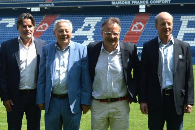 Football : Fabrice Clément succède à Gilles Sergent à la présidence du SM Caen