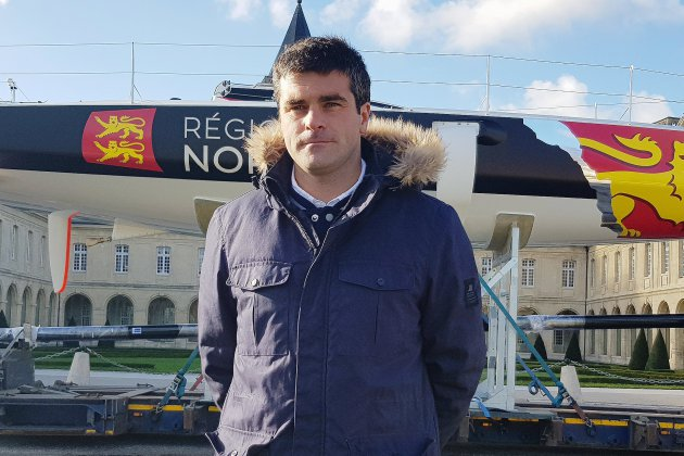 Voile : Alexis Loisonet Région Normandie à l'assaut de la 50e Solitaire du Figaro