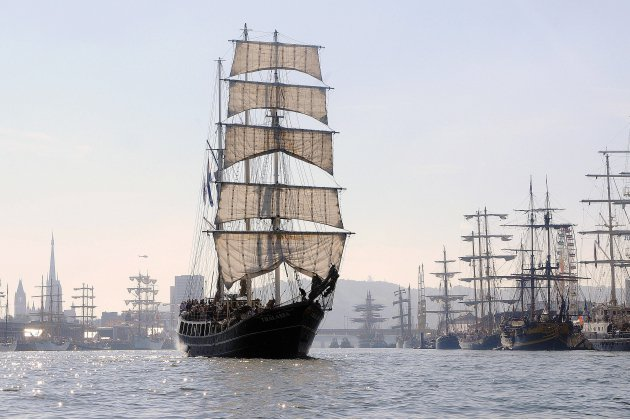 La ville de Rouen se prépare à accueillir l'Armada et ses navires du monde