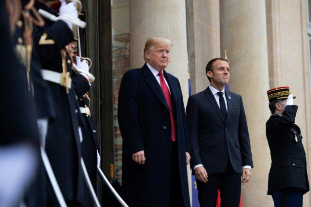 Trump et Macron côte à côte jeudi pour célébrer le 6 juin 1944