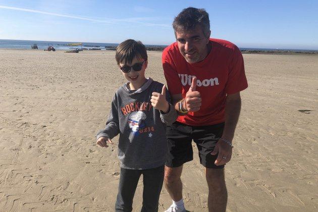 Anthony Thiebot courra les 50 kilomètres de La Barjo pour Hugo