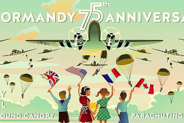 Des centaines de parachutistes sauteront en Normandie pour le 75ème