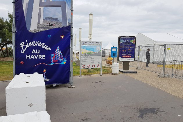 Un village de la Coupe du monde au Havre