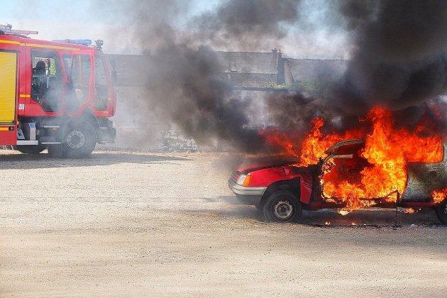 Près de Bolbec, un ado incendie la voiture de son ex-belle-mère