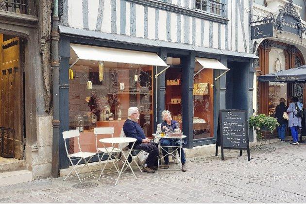 Bonne table à Rouen: le Goût, rue Saint-Romain