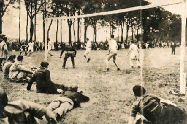 D-Day : un match de foot France-État-Unis, 75 ans plus tard