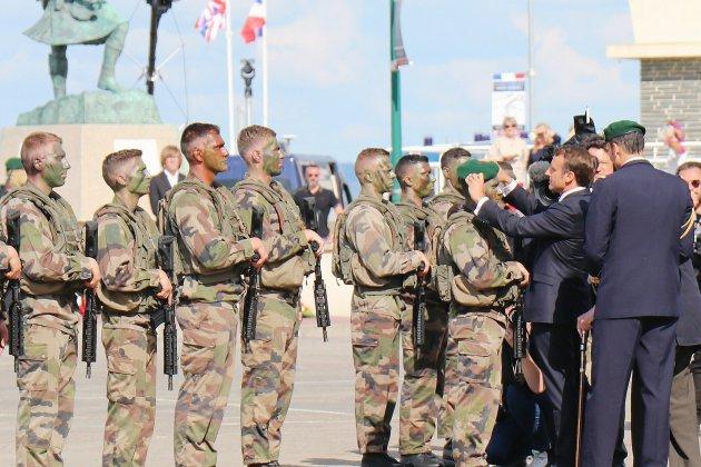75e du D-Day: l'hommage au commando Kieffer en images