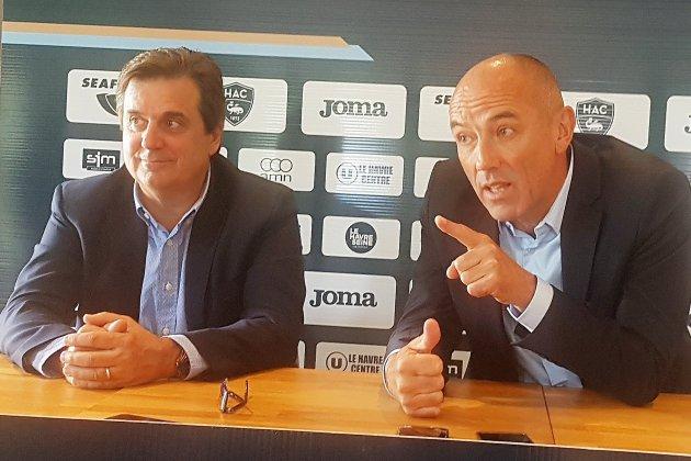 """Football (Ligue 2) : Pour Paul Le Guen, le HAC est """"un beau club"""""""