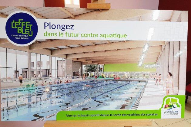 La nouvelle piscine de Saint-Romain-de-Colbosc ouvrira en août