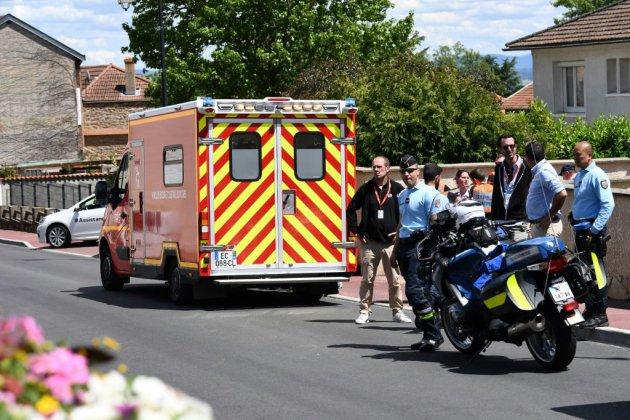 Cyclisme: Froome chute gravement et doit renoncer au Tour de France