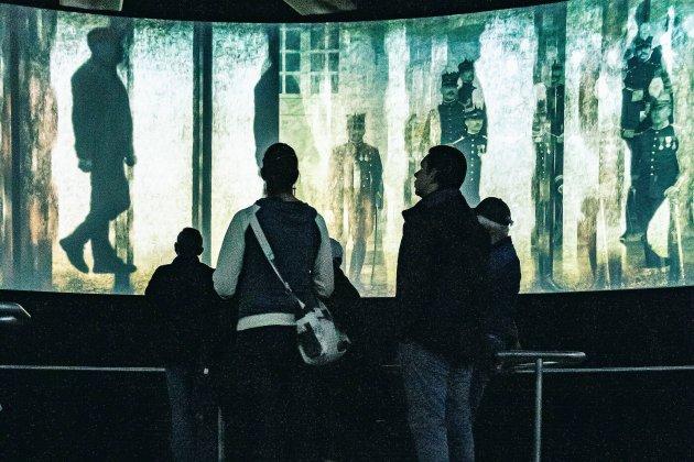 Une nouvelle salle immersive à 360° au Mémorial de Caen